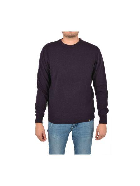 Niebieski sweter w paski Colmar