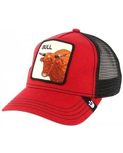 Czerwona czapka Goorin Bros