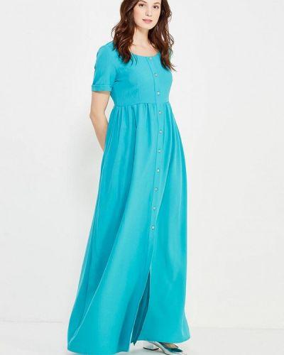 Платье весеннее бирюзовый Love & Light