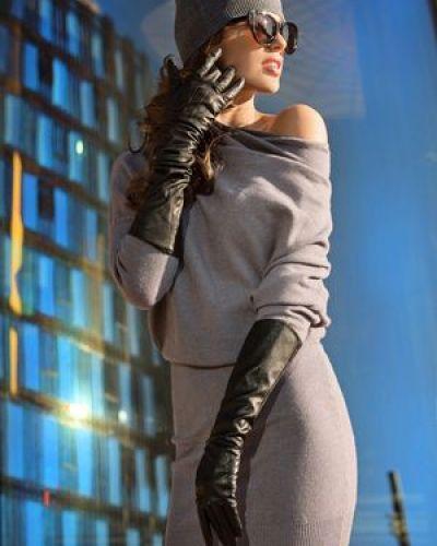 Платье из ангоры из вискозы Love Republic