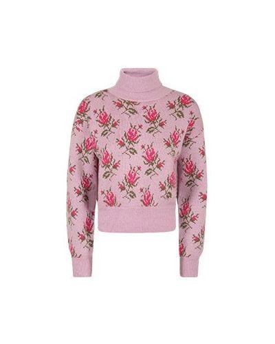 Розовая акриловая свитер Valentino Red