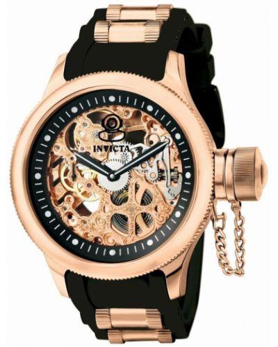 Zegarek mechaniczny - czarny Invicta Watches
