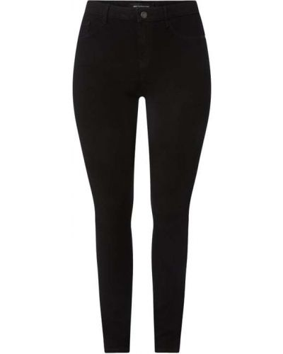 Mom jeans bawełniane - czarne Only Carmakoma