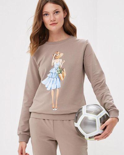 Бежевый спортивный костюм Fashion.love.story