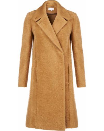 Пальто из вискозы - коричневое Patrizia Pepe