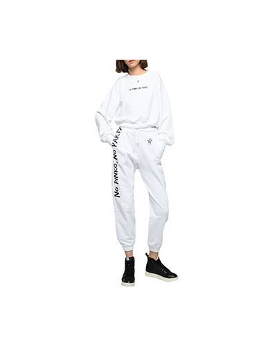 Костюмный белый спортивный костюм Pinko