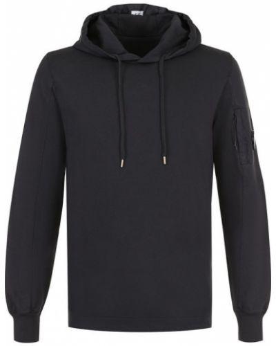 Черный свитер хлопковый C.p. Company
