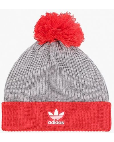 Шапка - серая Adidas Originals