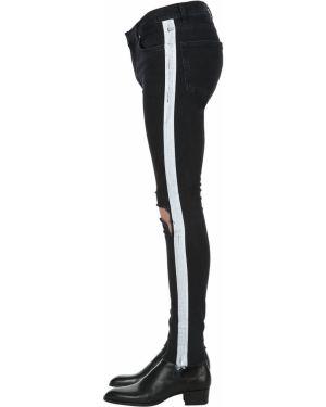 Czarne jeansy bawełniane Askyurself