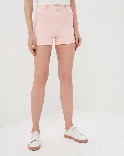 Джинсовые шорты розовый Modis