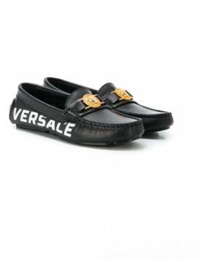 Мокасины черный Young Versace