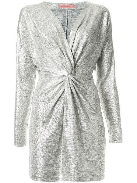 Sukienka mini dla wysokich kobiet z długim rękawem Manning Cartell