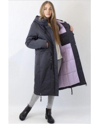 Стеганое пальто - черное Mishele