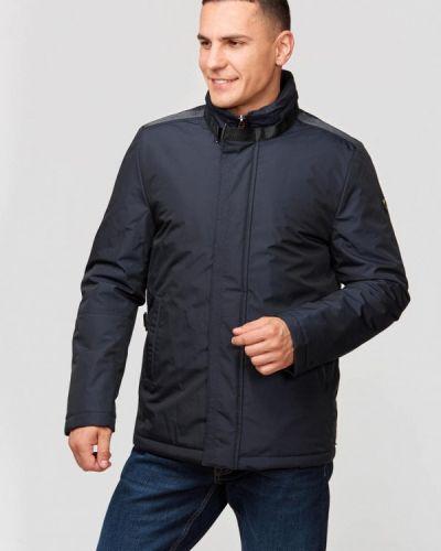 Утепленная куртка - синяя Campione