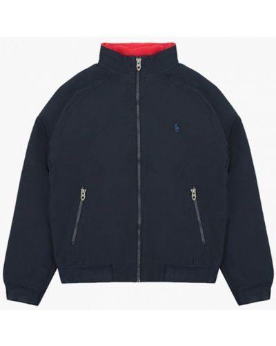 Утепленная синяя куртка Polo Ralph Lauren