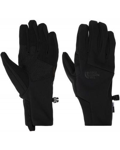 Черные перчатки спортивные The North Face