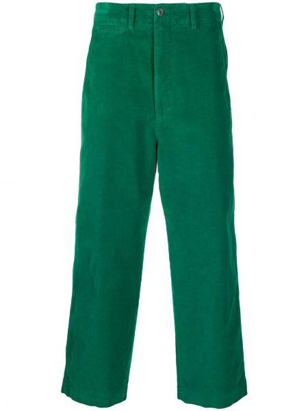 Przycięte spodnie, zielony Gucci
