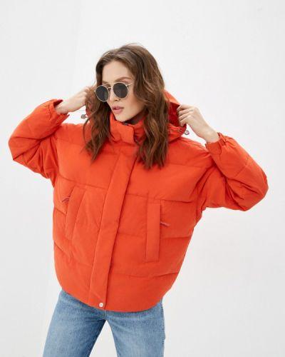 Утепленная красная куртка Lee