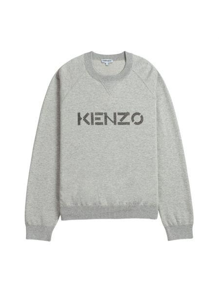 Sweter wełniany - szary Kenzo