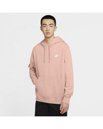 Klasyczna różowa bluza z kapturem Nike