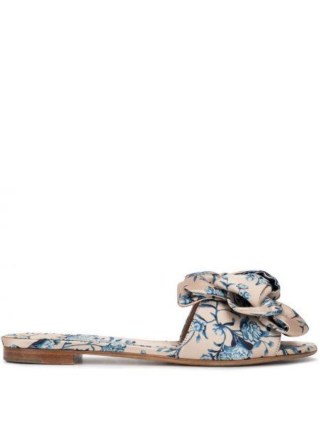 Beżowe sandały skorzane Tabitha Simmons