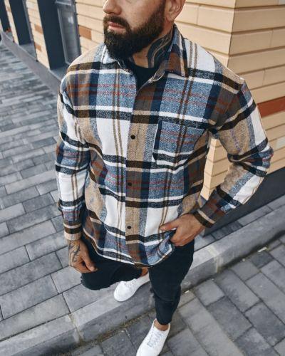 Теплая рубашка Fashion Man