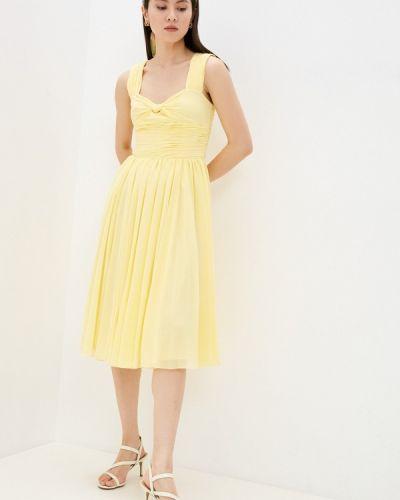 Вечернее платье - желтое Polo Ralph Lauren