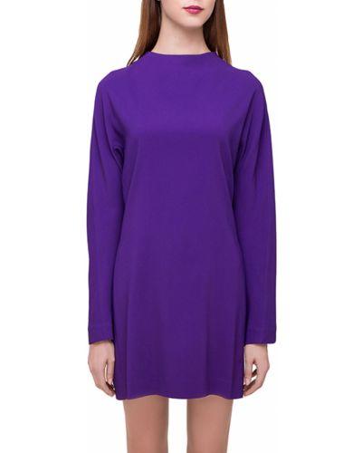 Платье из вискозы - фиолетовое Marni