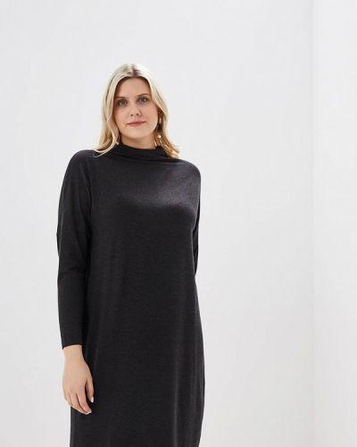 Платье футболка черное наше