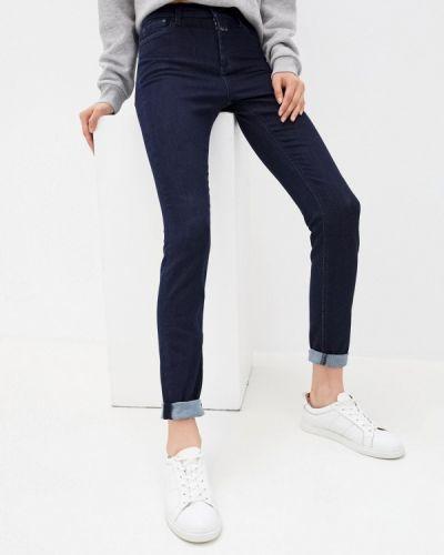 Синие джинсы-скинни узкого кроя закрытые Closed