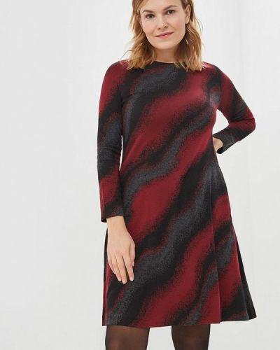 Платье бордовый красный Classik-t