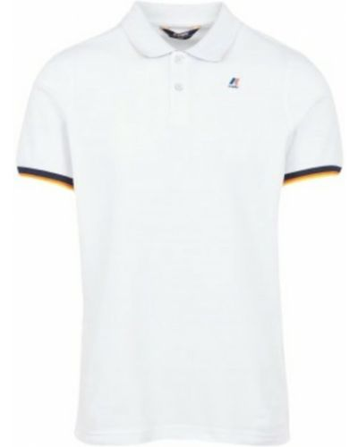 Biała koszulka K-way