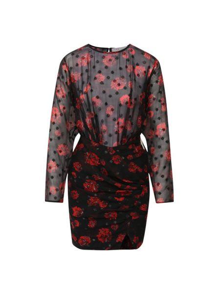 Платье мини с цветочным принтом шифоновое Iro