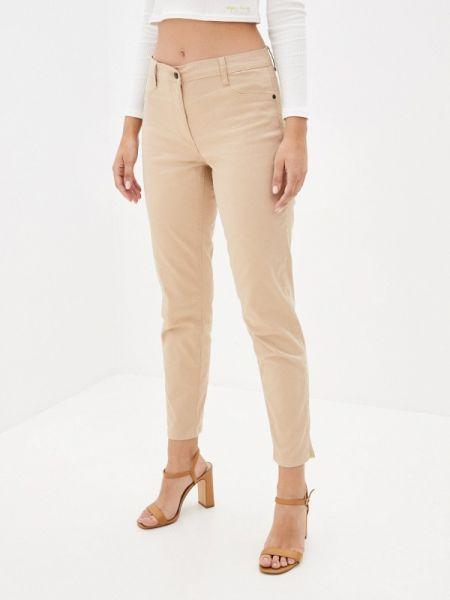 Бежевые прямые брюки Betty Barclay