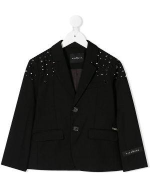 Пиджак черный длинный John Richmond Junior
