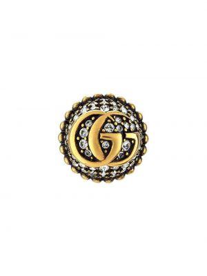 Złote kolczyki Gucci