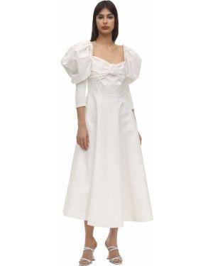 Платье с манжетами Anouki
