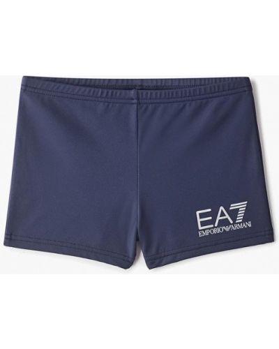 Плавки синие Ea7