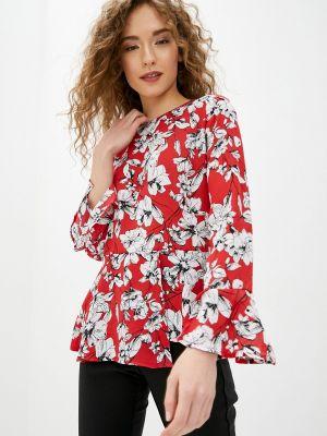 Блузка с длинным рукавом весенний красная Concept Club