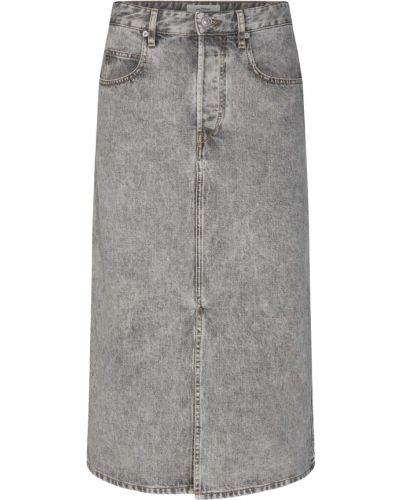 Szara spódnica ołówkowa Isabel Marant