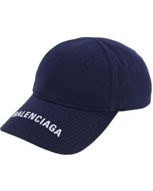 Kapelusz z haftem z logo Balenciaga