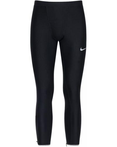 Текстильные колготки эластичные для бега Nike