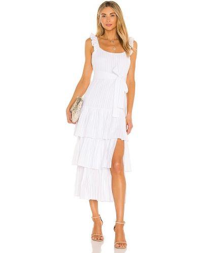 Biała sukienka koronkowa bawełniana Likely