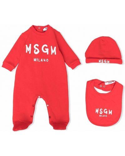 Piżama z długimi rękawami Msgm Kids