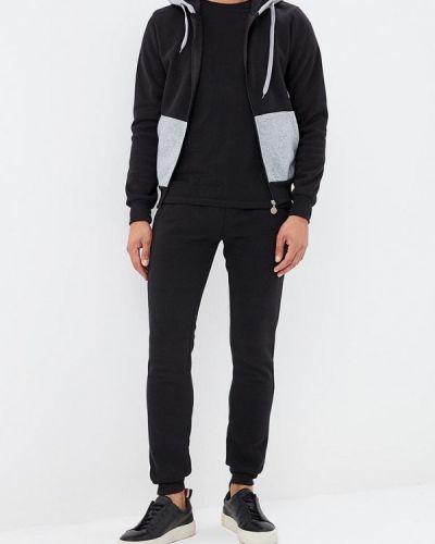 Черный спортивный костюм Occhibelli