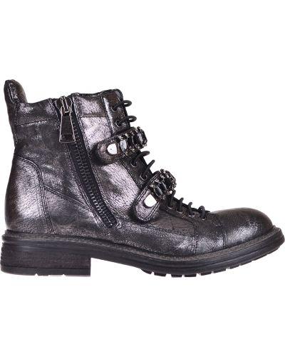 Ботинки на каблуке осенние кожаные Fru.it