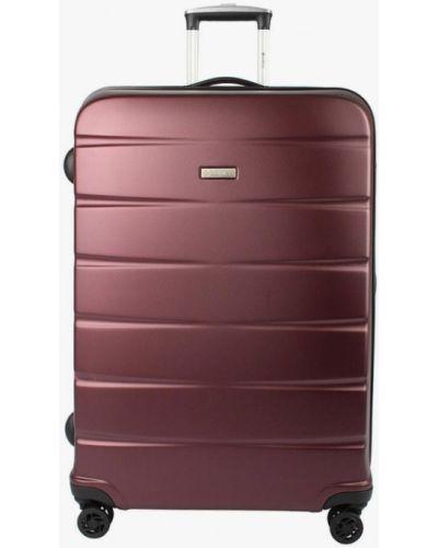 Красный чемодан Edmins