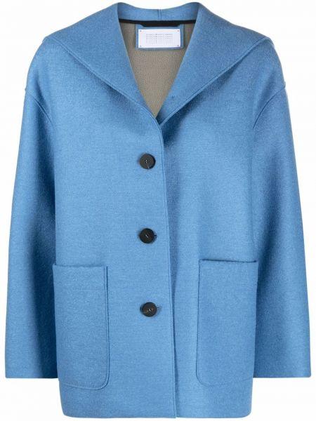 Синяя куртка с карманами Harris Wharf London