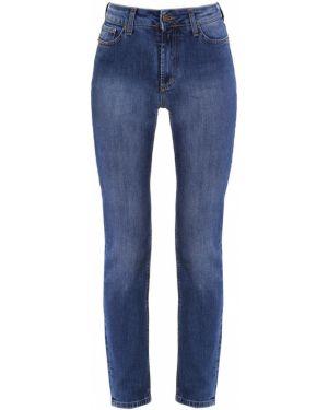 Пляжные джинсы с высокой посадкой с воротником на пуговицах с поясом Gender Denim