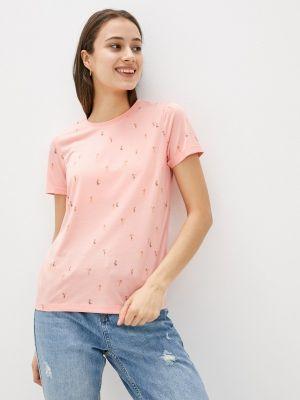 Розовая футболка с короткими рукавами Brunotti